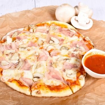 Pizza Prosciutto e funghi, 450g