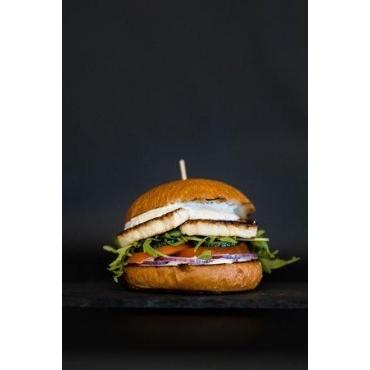 Burger cu halloumi și trufe, 400g