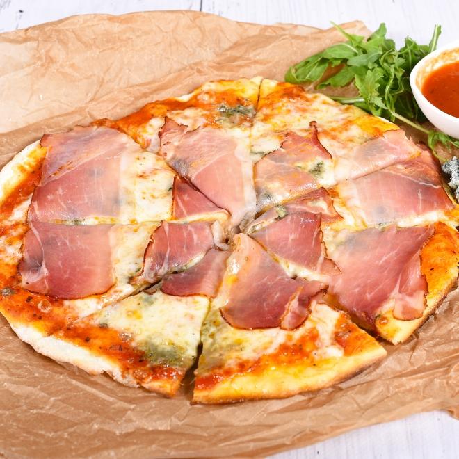 Pizza Speck & Gorgonzola, 450g