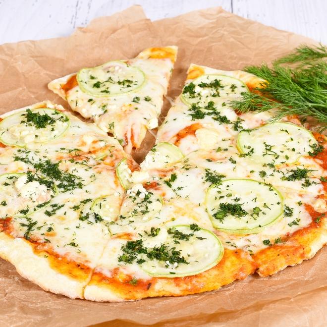 Pizza Zucchine e feta, 400g