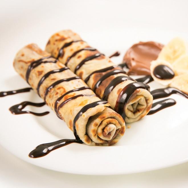 Clătite cu cremă de ciocolată, 250g