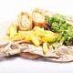 Cordon bleu cu cartofi cu rozmarin, 400g